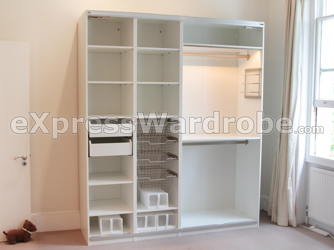 Modular bedroom wardrobes